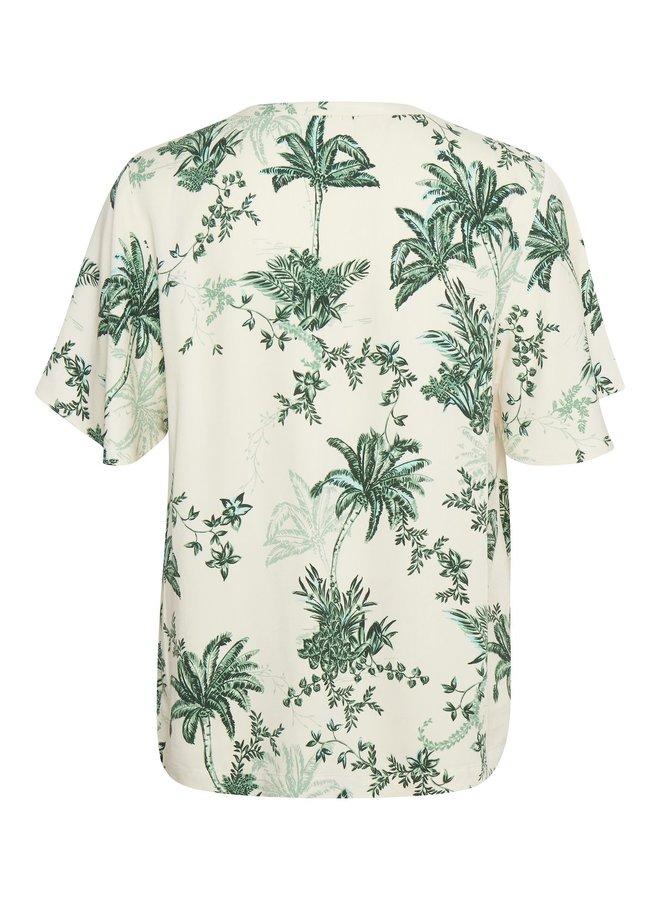 Summer Palm Top - Crème