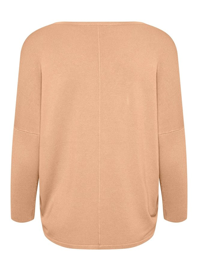 Mila Jumper with Ribbed Sleeves - Prairie Sunset