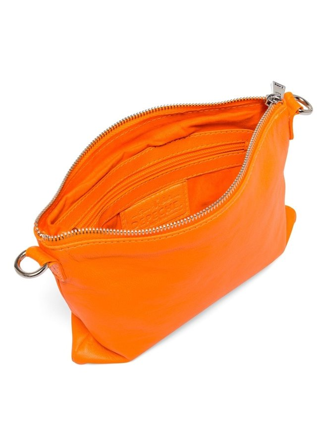Small fluro clutch - Neon orange