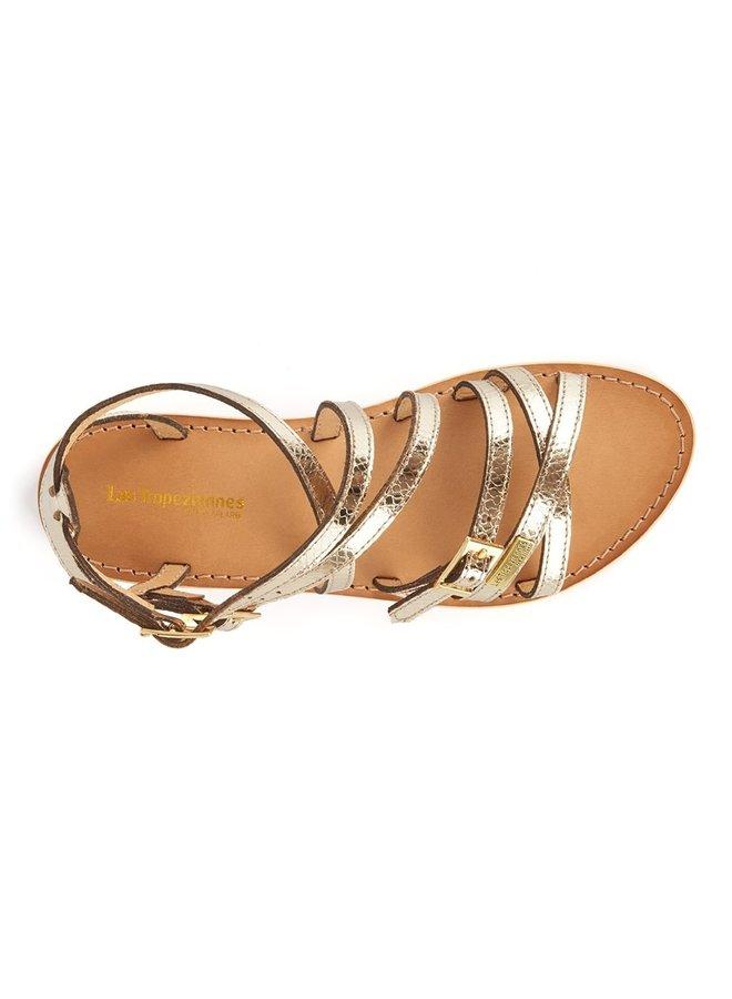 Boucle Sandal - Gold