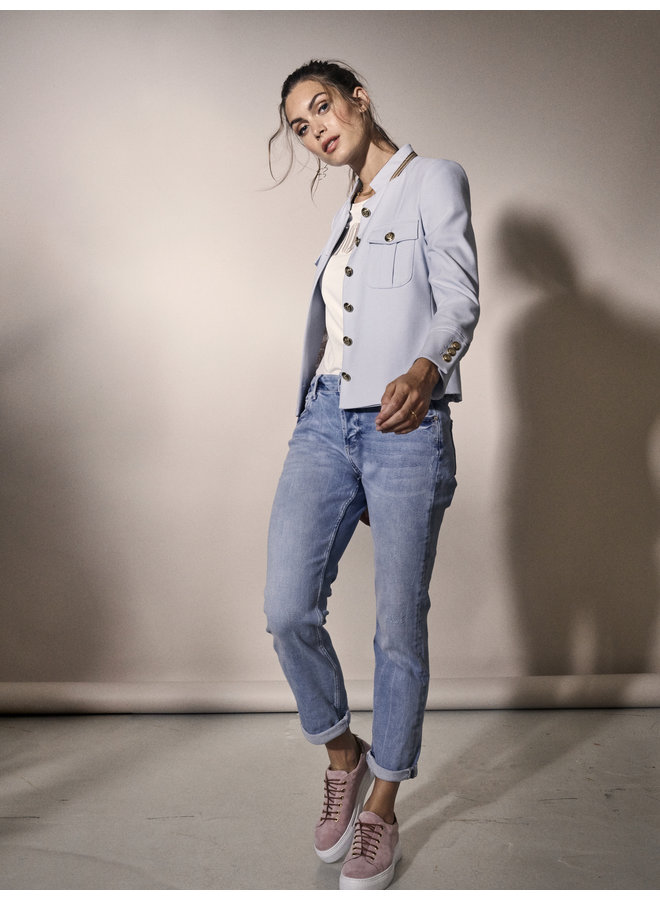 Ava Willow Jeans - Light Blue