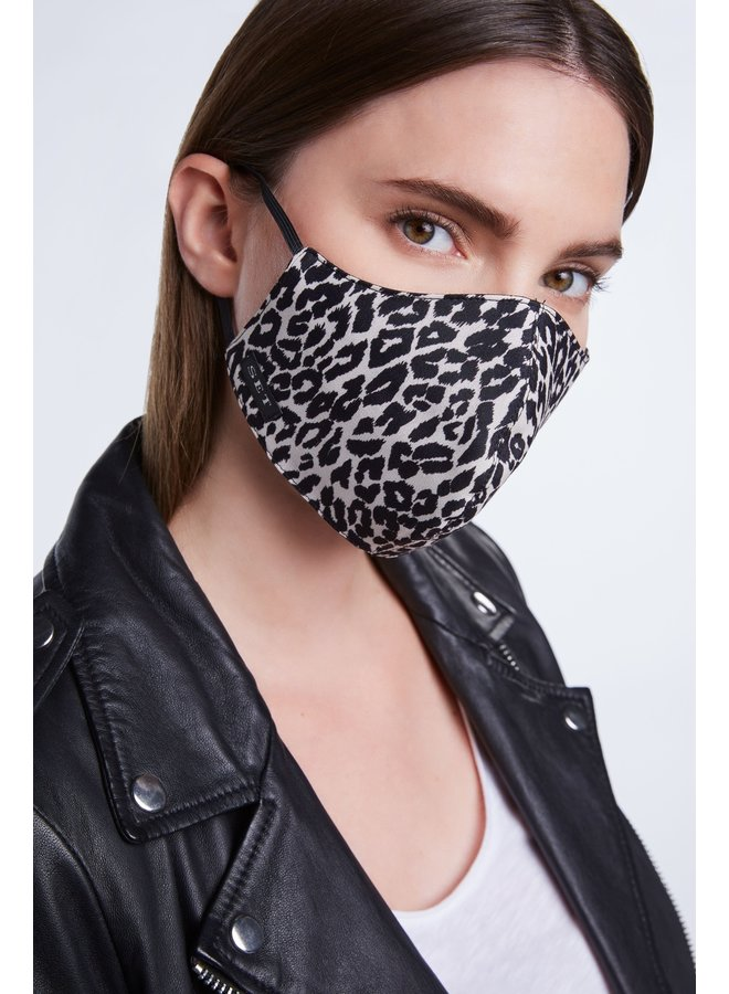 Animal Print Face Mask - Leopard