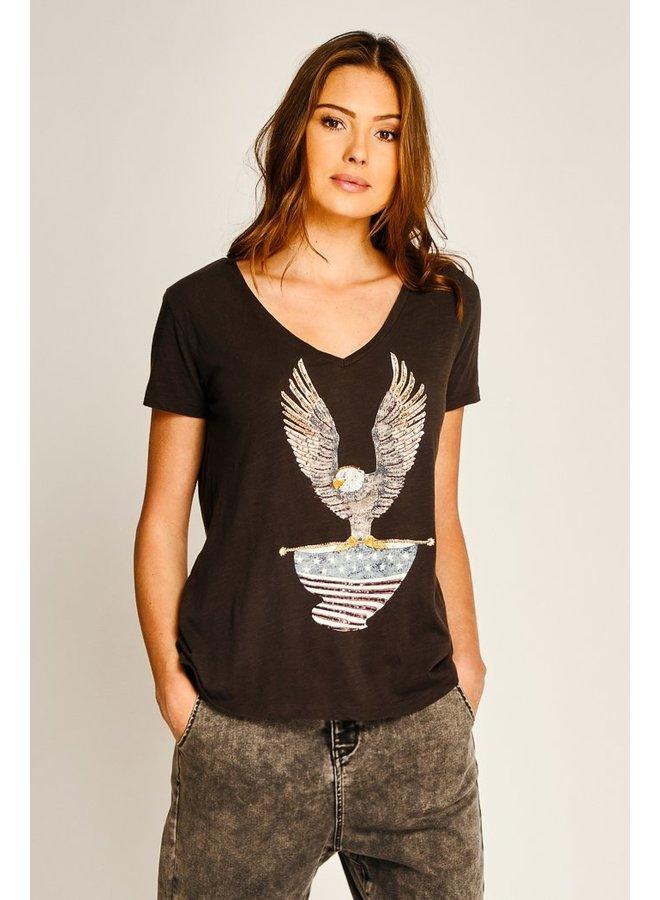 Eagle T-shirt - Carbone