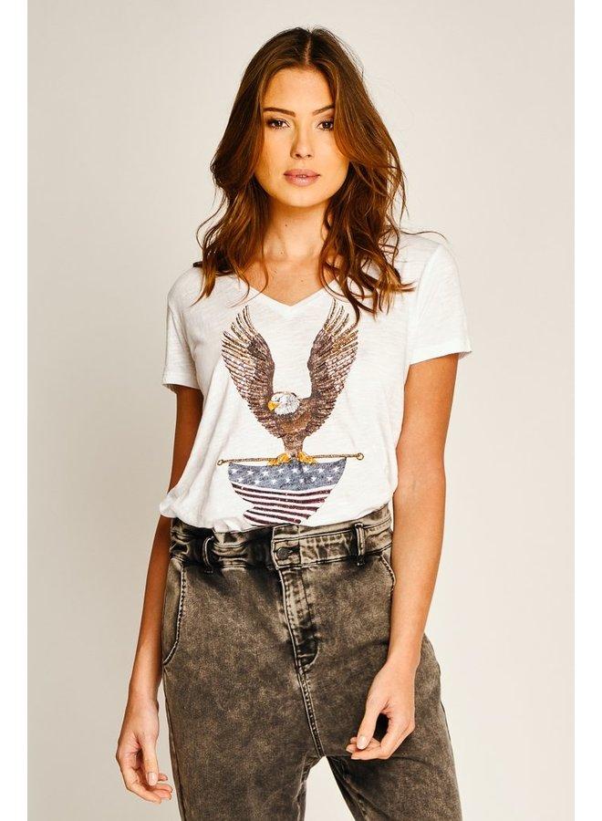 Eagle T-shirt - White