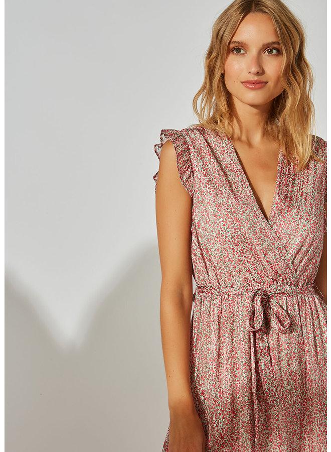 Rasmaa Dress - Framboise