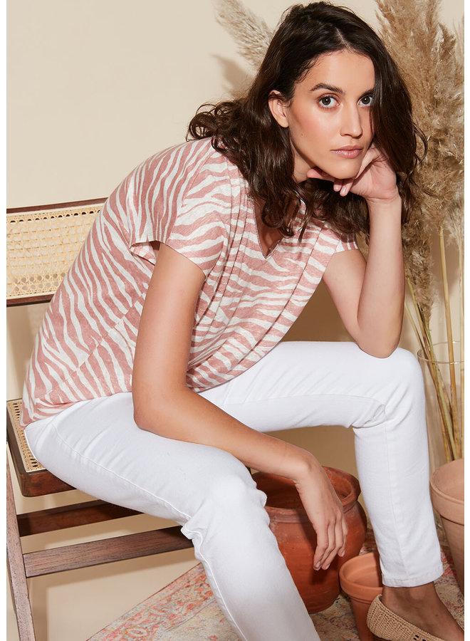 Tambisho T-shirt - Blush