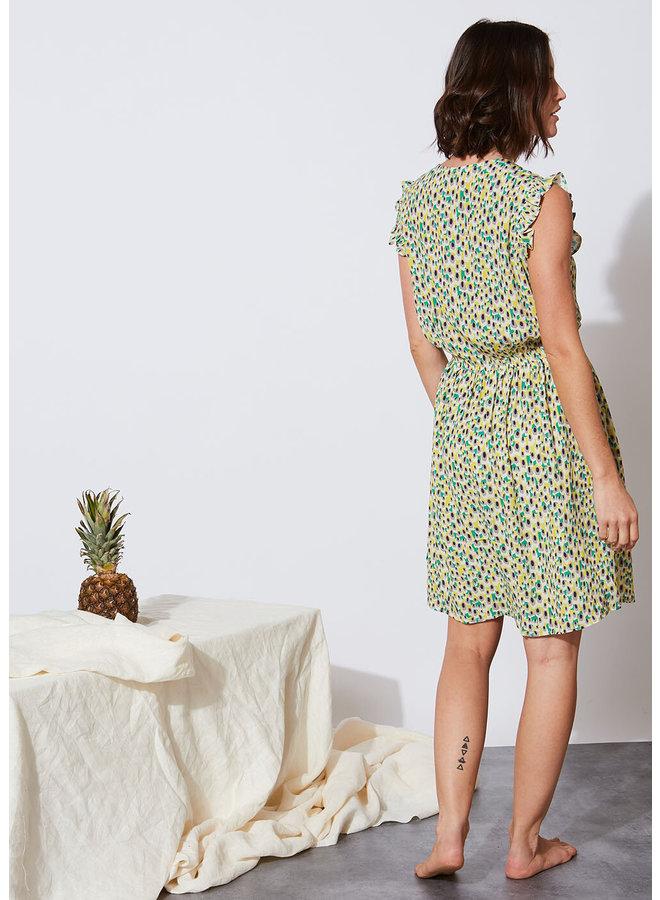Relanore Dress - Yellow