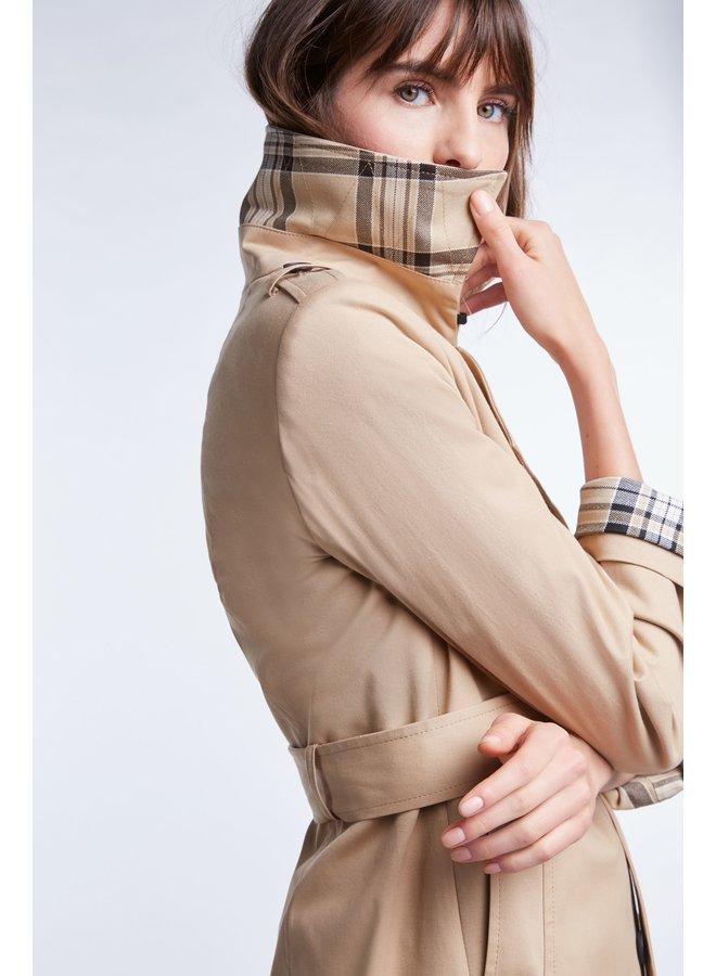 Belted Mac - Camel