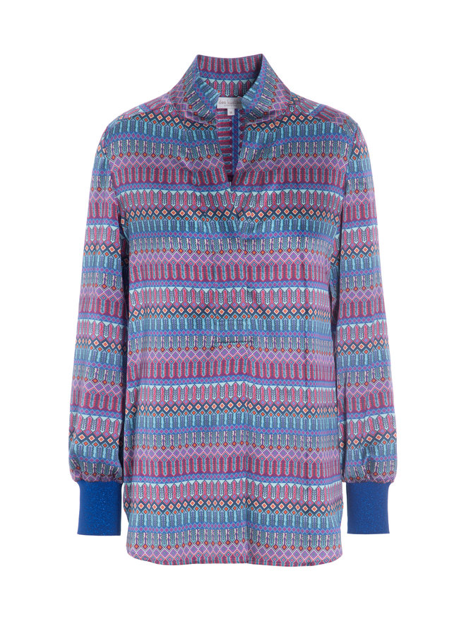 Kate Tunic - Tapestry Blue