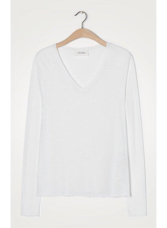 Jacksonville Long Sleeve Tee - White