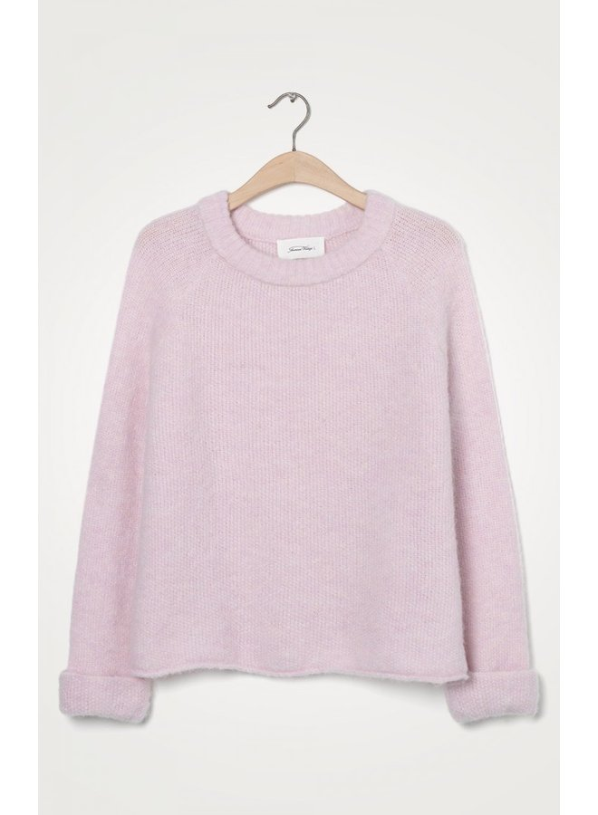 East O Neck Knit - Baby Lilas