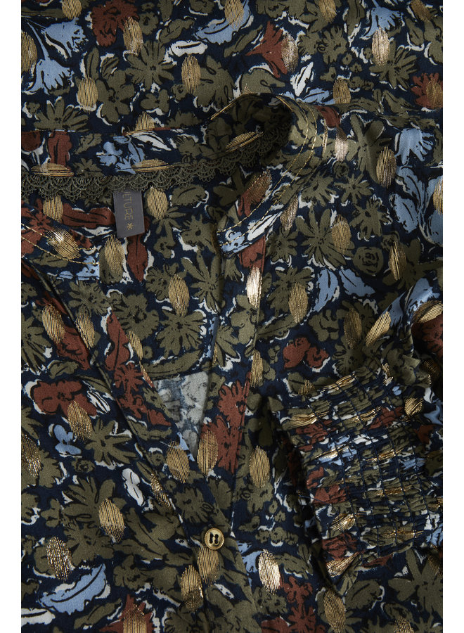 Giselle Shirt - Blue Iris