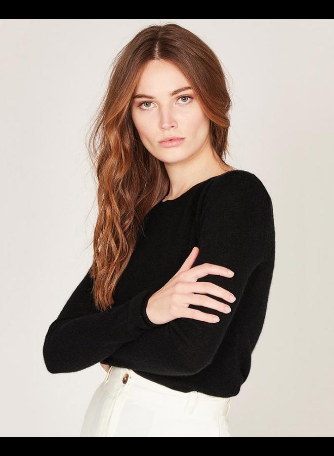 Tatiana Cashmere/Wool Knit - Black