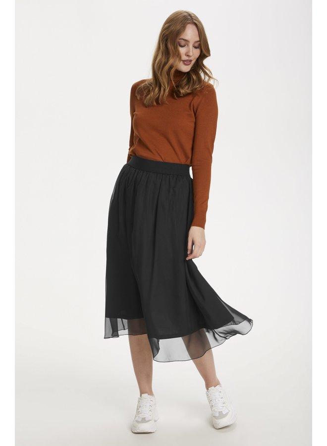 Coral Skirt - Black