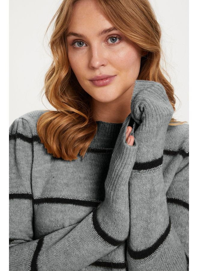 Coco Paloma Pullover - Cool Grey
