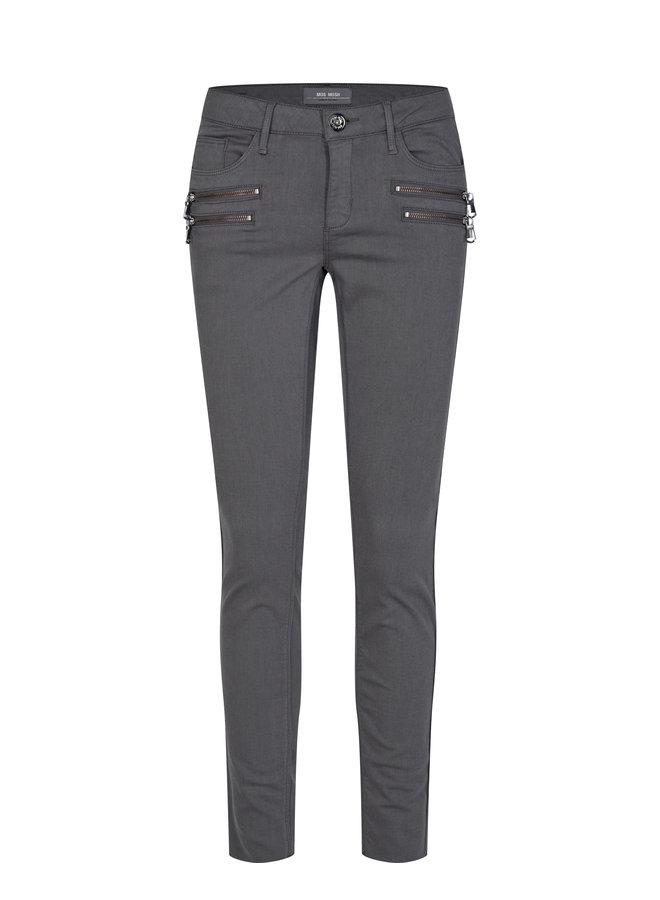 Charlie Zip Soft Pant - Magnet