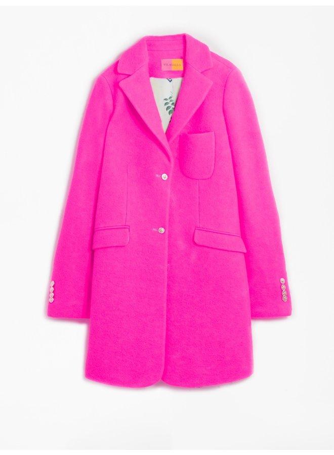 Oxford Coat - Pink Fluro