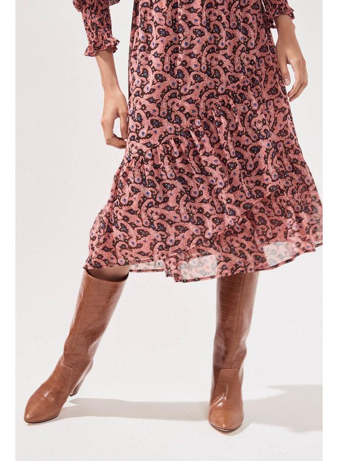 Chalva Paisley Dress - Grenadine