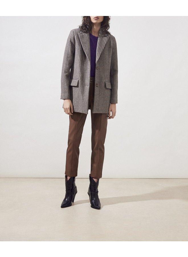 Diba Tweed Blazer - Beige