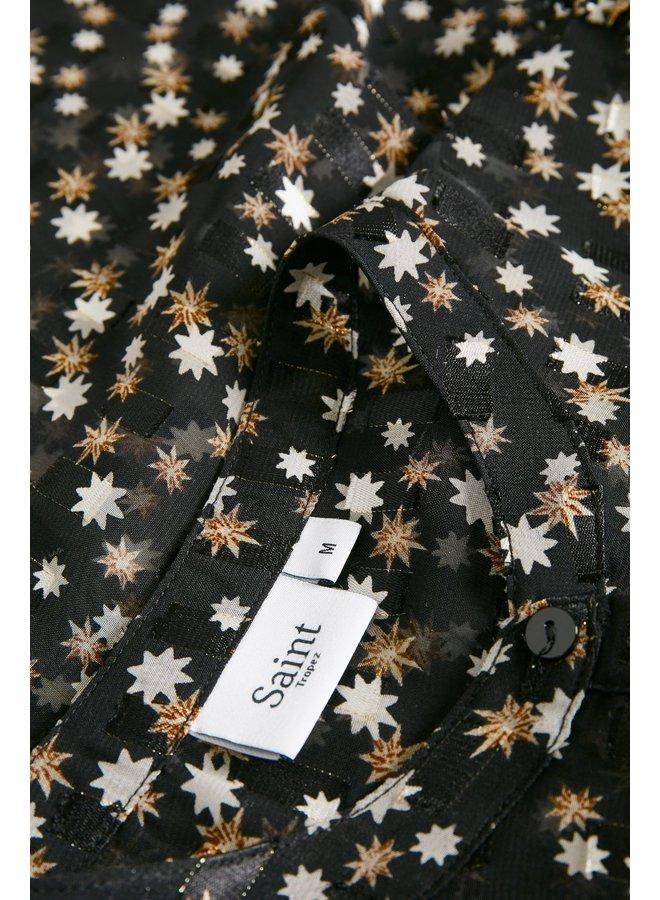 Carolyn Shirt - Black Star