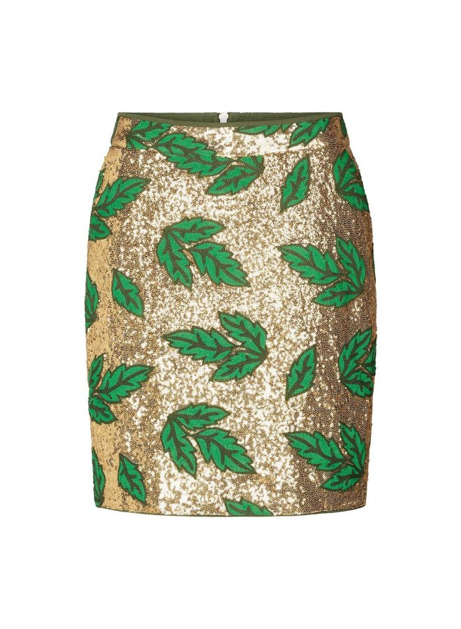 Aqua Skirt - Green
