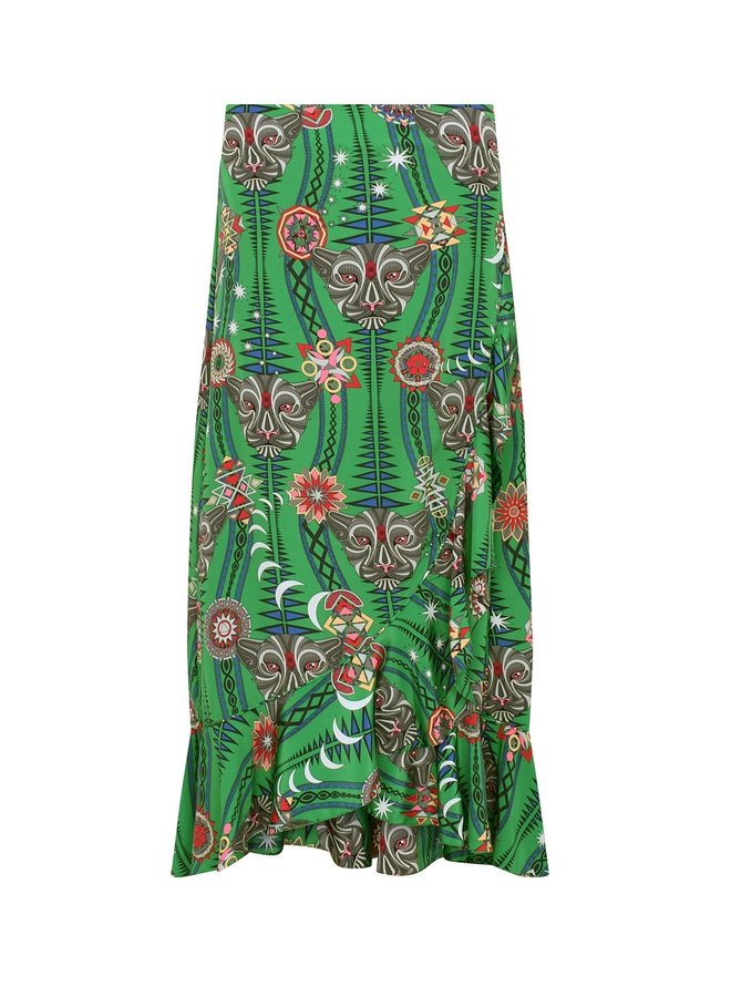 Tribal Mia Skirt - Watermelon Tormeline