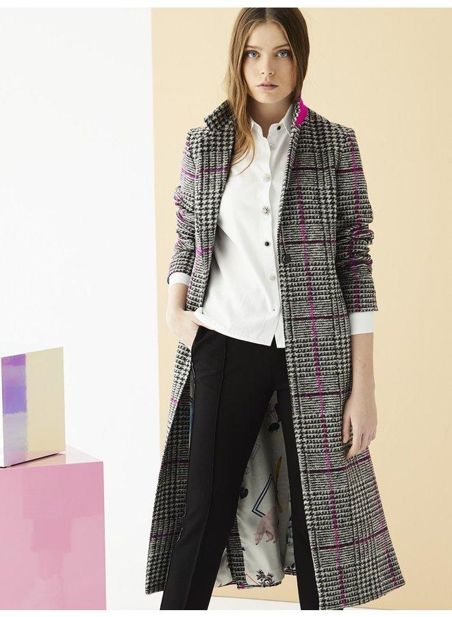 Alexandra Coat - Pink Kito