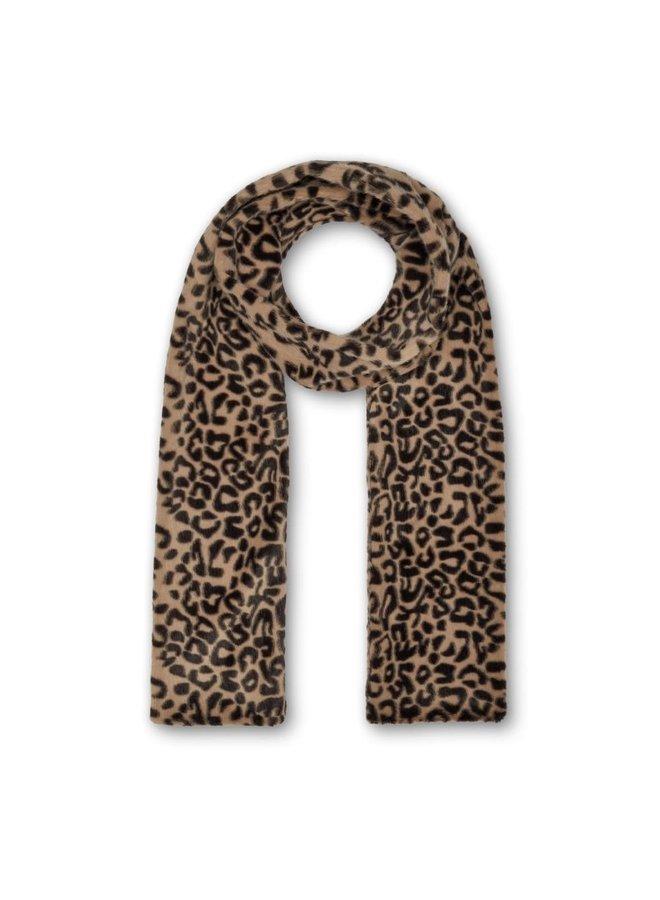 Ari Scarf - Beige Leopard