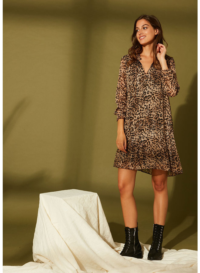 Ryana Dress - Beige
