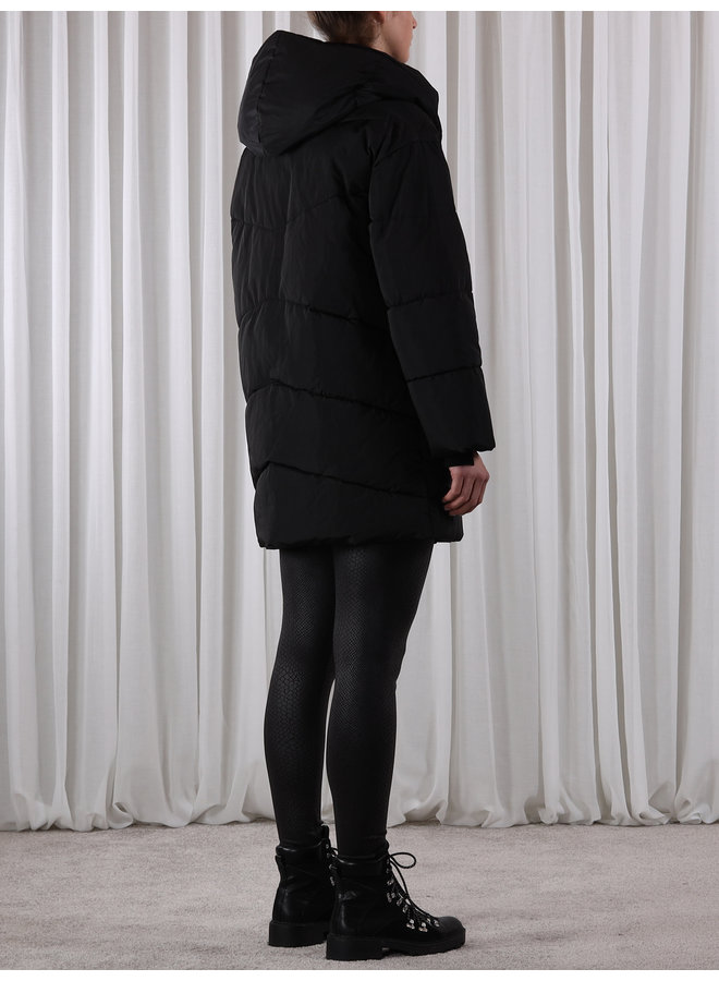 Laural Shawl Jacket - Black