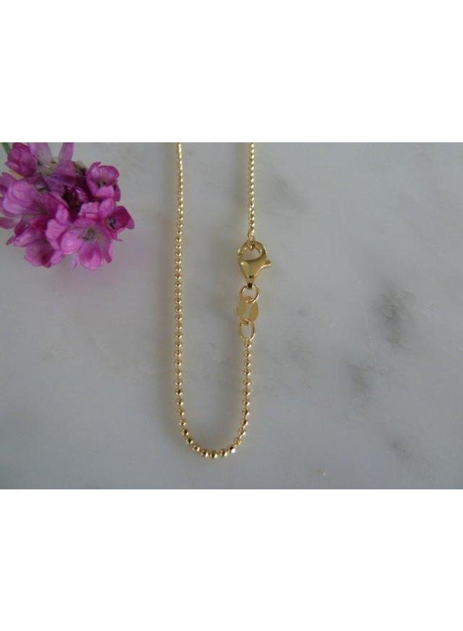 """MH722b Gold Chain 16"""""""