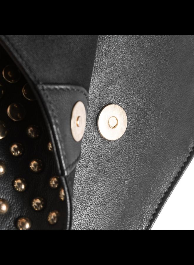 Mini Studded Bag - Gold