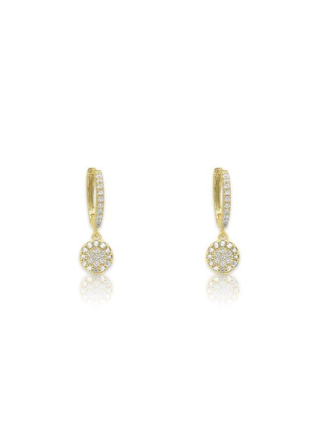Balan Earrings - Gold