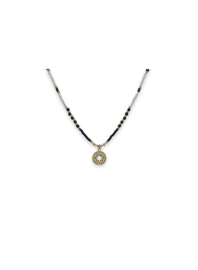 Zeyfros necklace - Navy