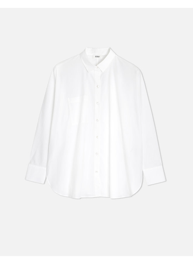Camila Batwing Shirt - White