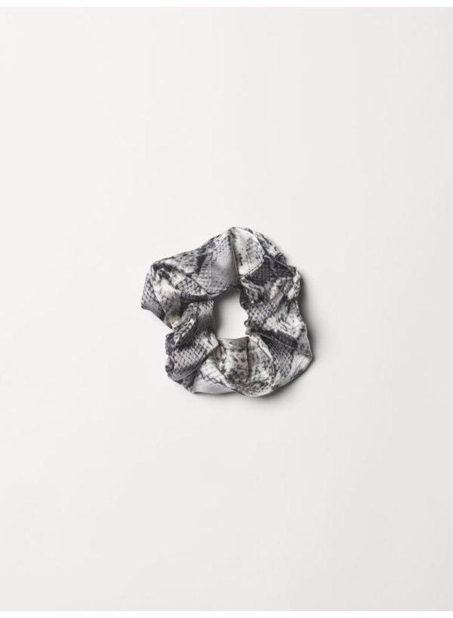 Snake Scrunchie - Grey