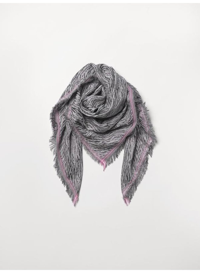 Millie Colour Scarf - Grey