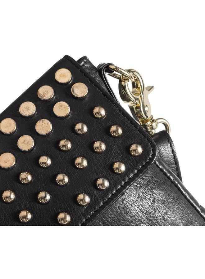 Studded Mobile bag - Gold