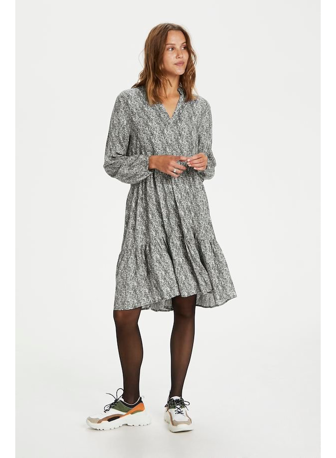 Eda Dress - Total Eclipse Ditsy