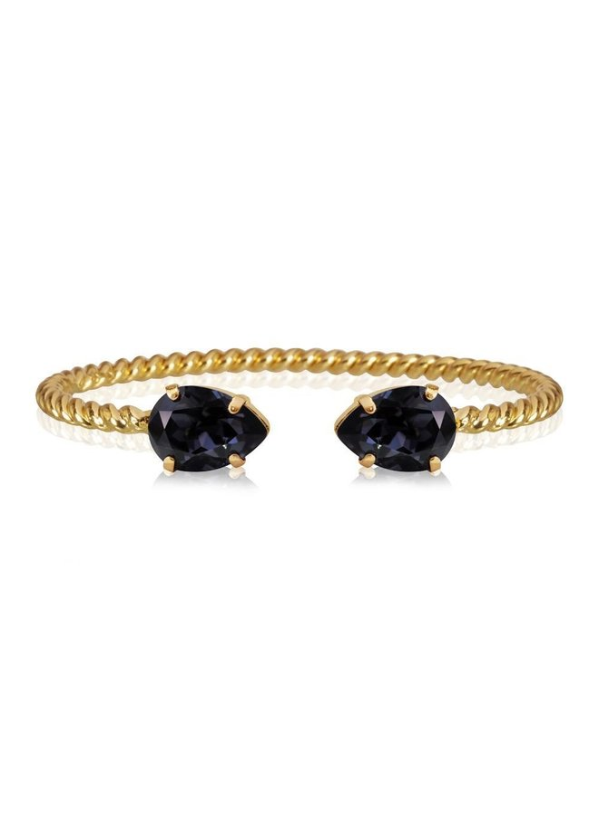 243937 Mini Drop Bracelet - Gold Graphite