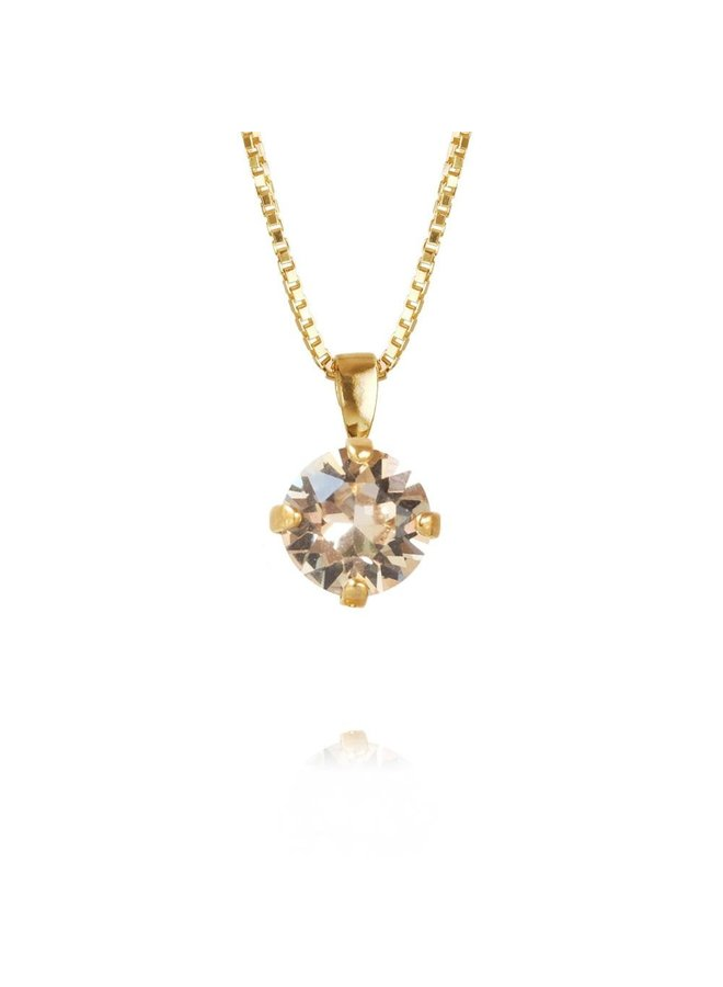 202279 Classic Petite Necklace - Gold Silk