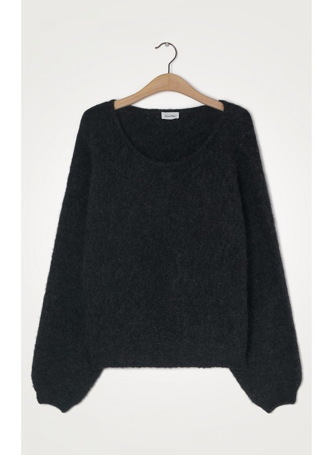 East Round Neck Knit - Anthracite