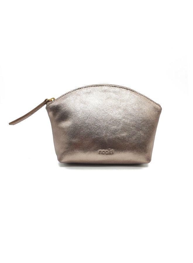 Nessa Cosmetic Bag - Gold