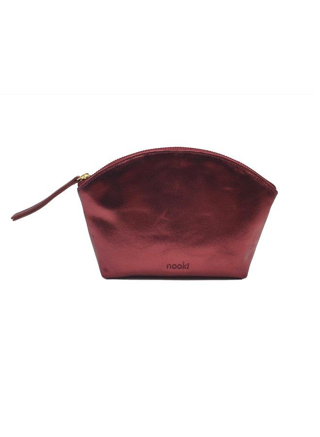 Nessa Cosmetic Bag - Burgundy
