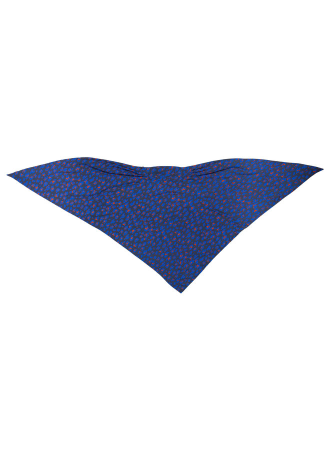 doodiescarf - Animal grey/blue