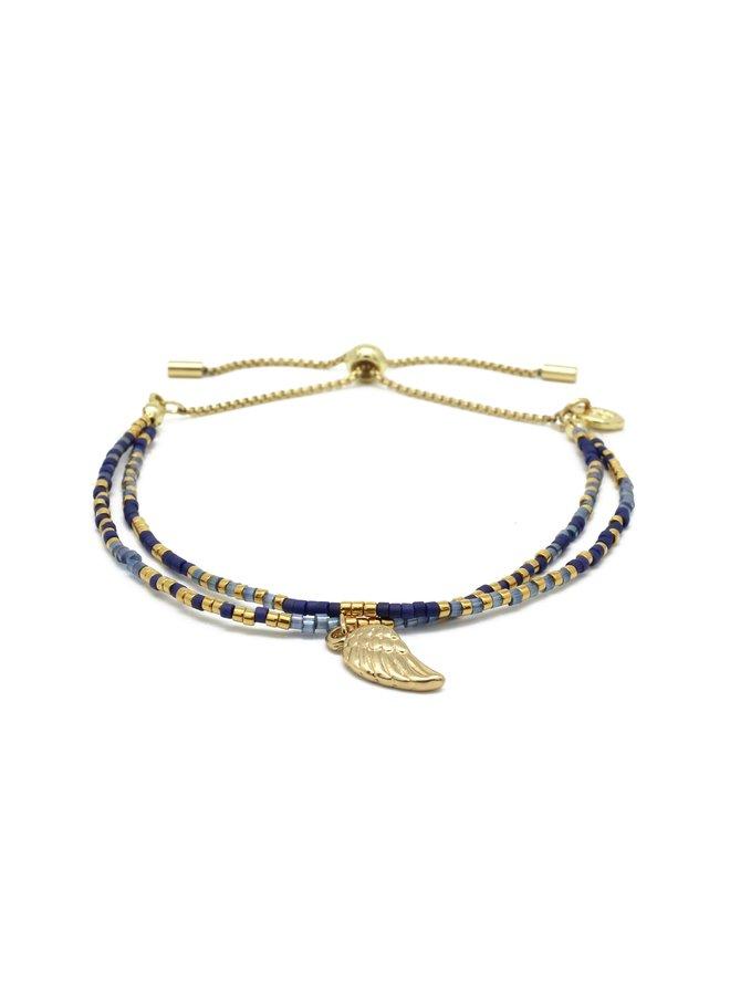 Clarinet Bracelet - Navy