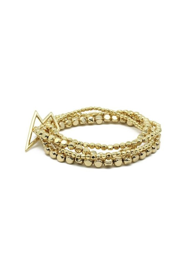 Whistle Bracelet - Gold