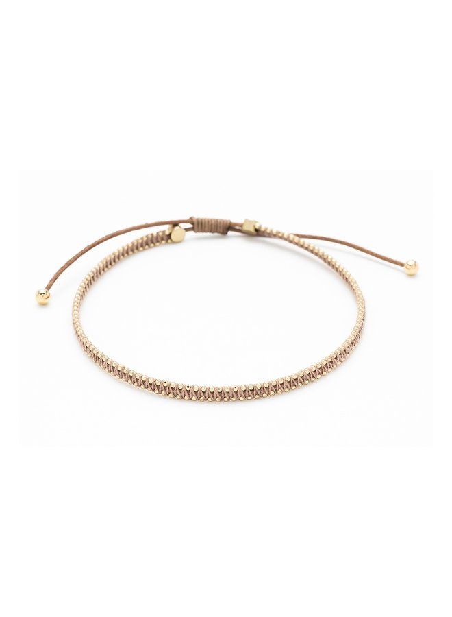 Euphonium bracelet - Tan