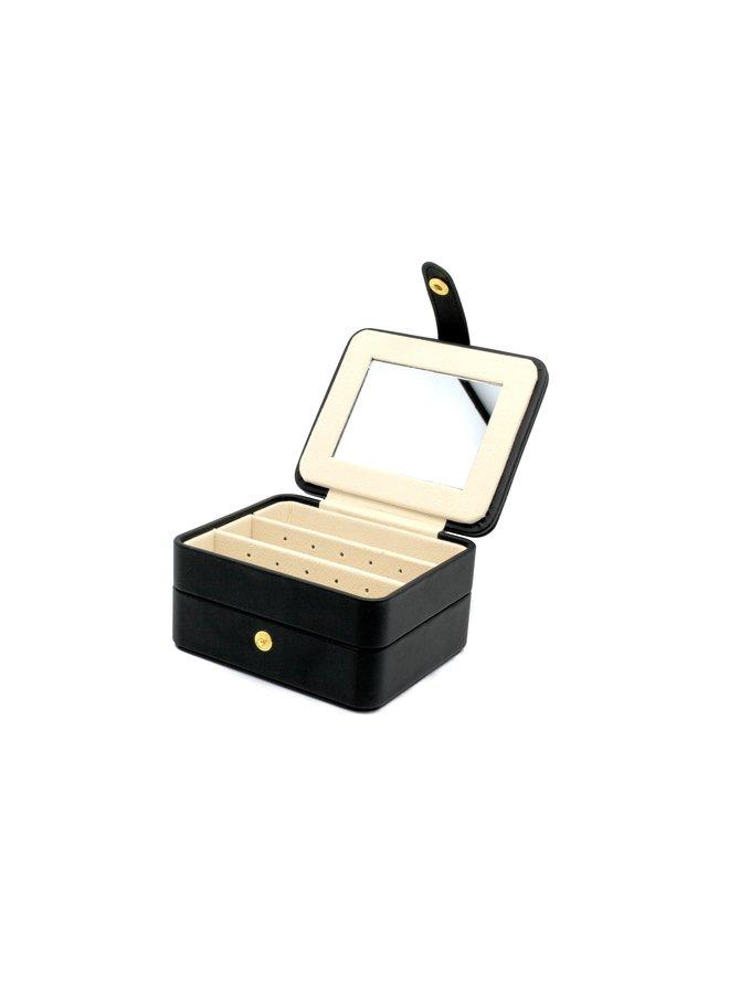 Butchart Blk Sq Jewellery Box