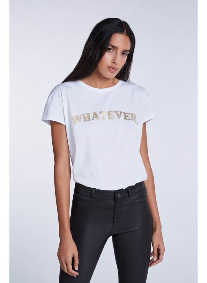 What Ever Tee - White
